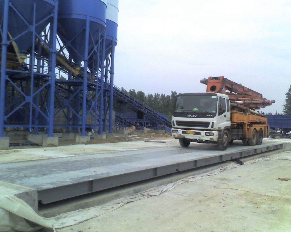3*16m 80T Pitless Type Weighbridge Scientific U Shape Beam Structure Pinglei